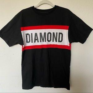 Diamond Color Block Logo T-Shirt